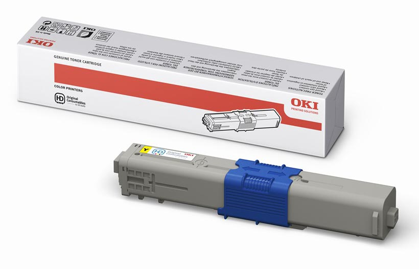 Mực in màu Oki C510 Yellow Toner Cartridge (44469755)