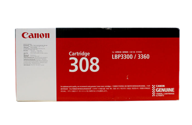 Mực in Canon 308 Black Laser Toner Cartridge